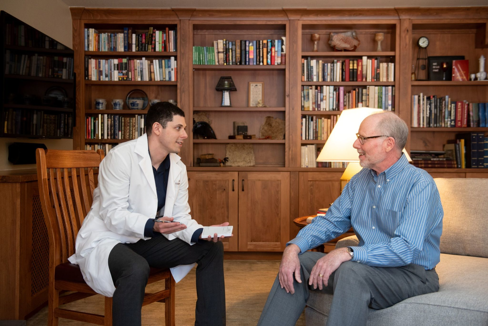 Colorado Springs Orthopedic Surgeon House Calls With Patient